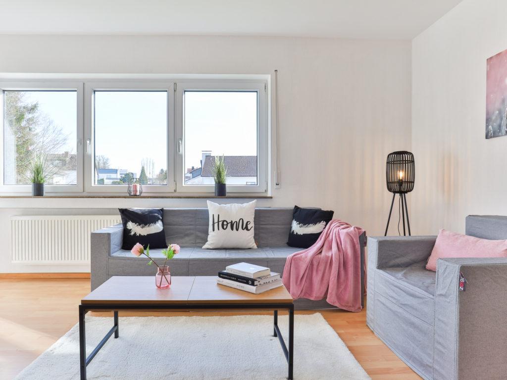 Wohnen - Weißenhorn: 4-Zimmer-Wohnung